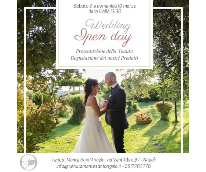 Wedding Open Day...